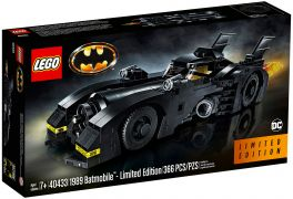 LEGO DC Comics 40433 1989 Batmobile Limited Edition