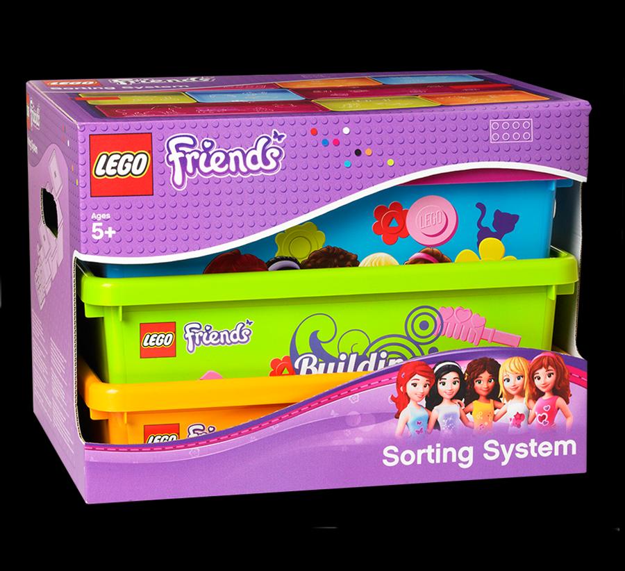 Lego rangement 40911702 pas cher bo te de rangements - Boite rangement lego pas cher ...