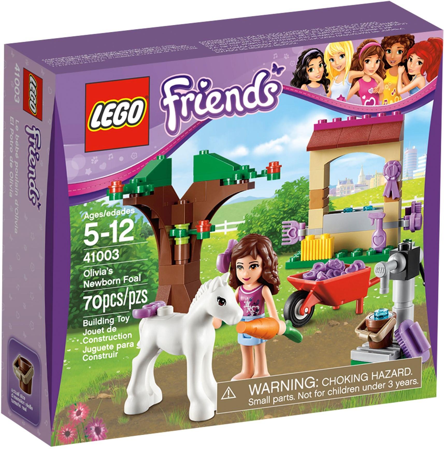 41003 – Olivia et son bébé Poulain de LEGO