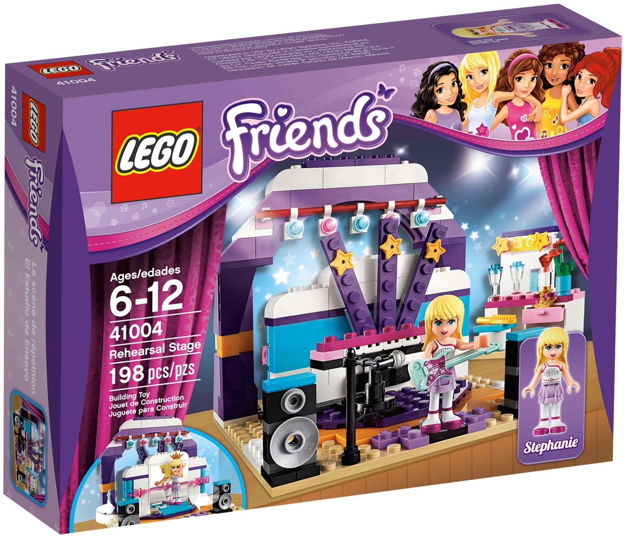 lego friends 41004 pas cher le studio de musique et de danse. Black Bedroom Furniture Sets. Home Design Ideas
