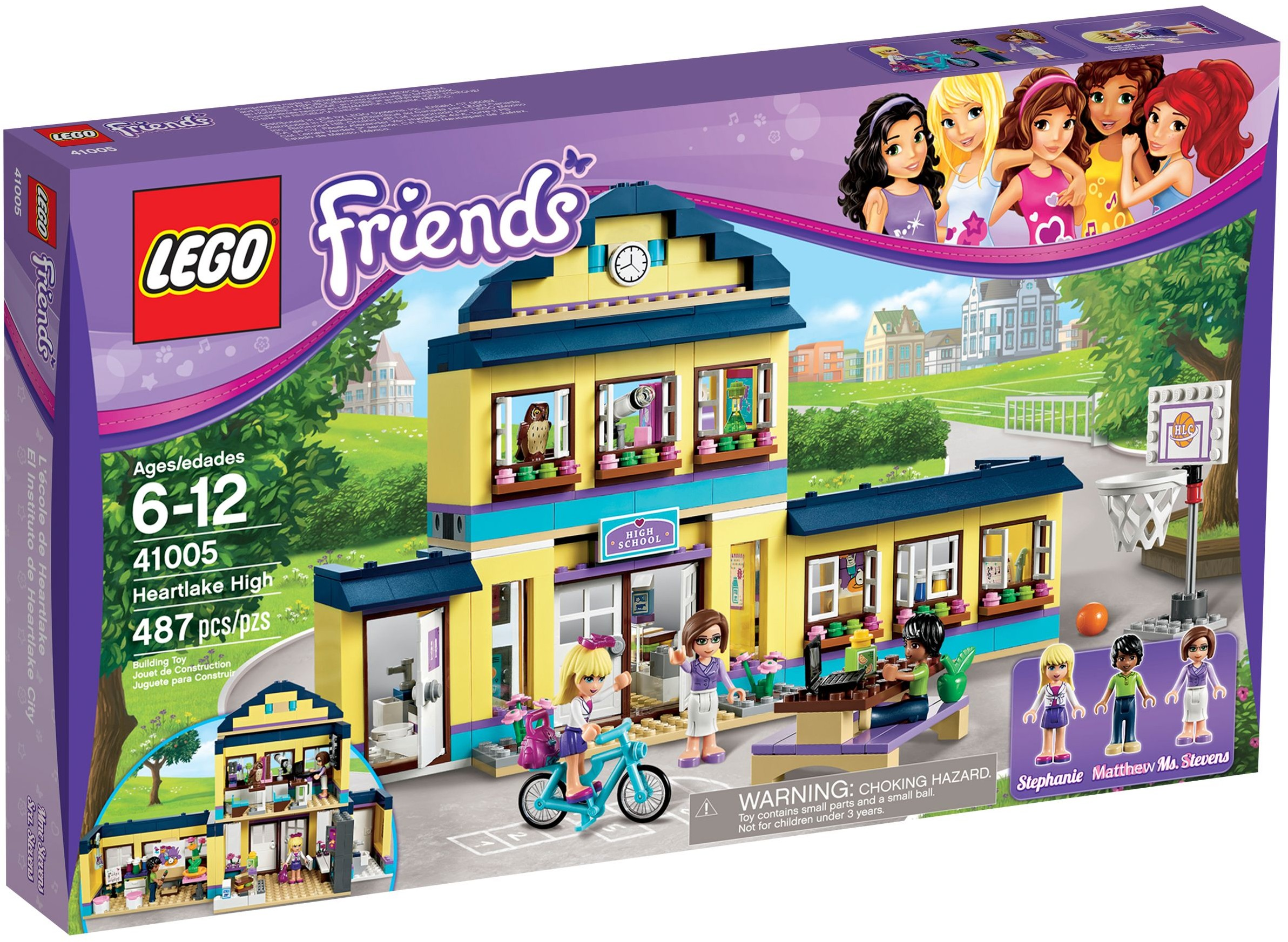 LEGO Friends 41005 pas cher  L'cole de Heartlake City