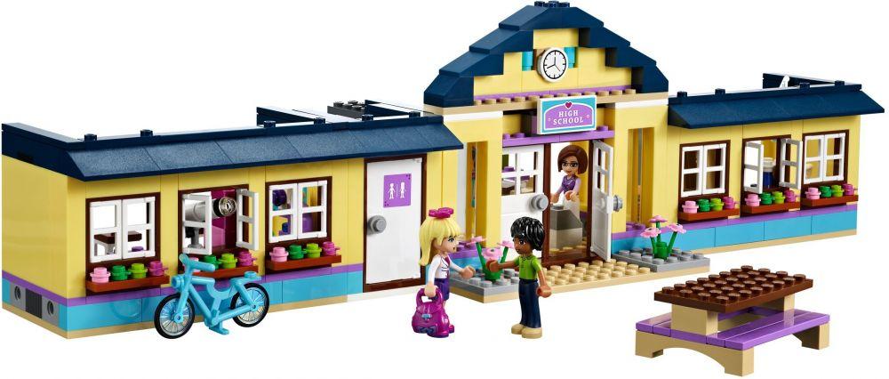 Lego friends 41005 pas cher l 39 cole de heartlake city - Ecole lego friends ...