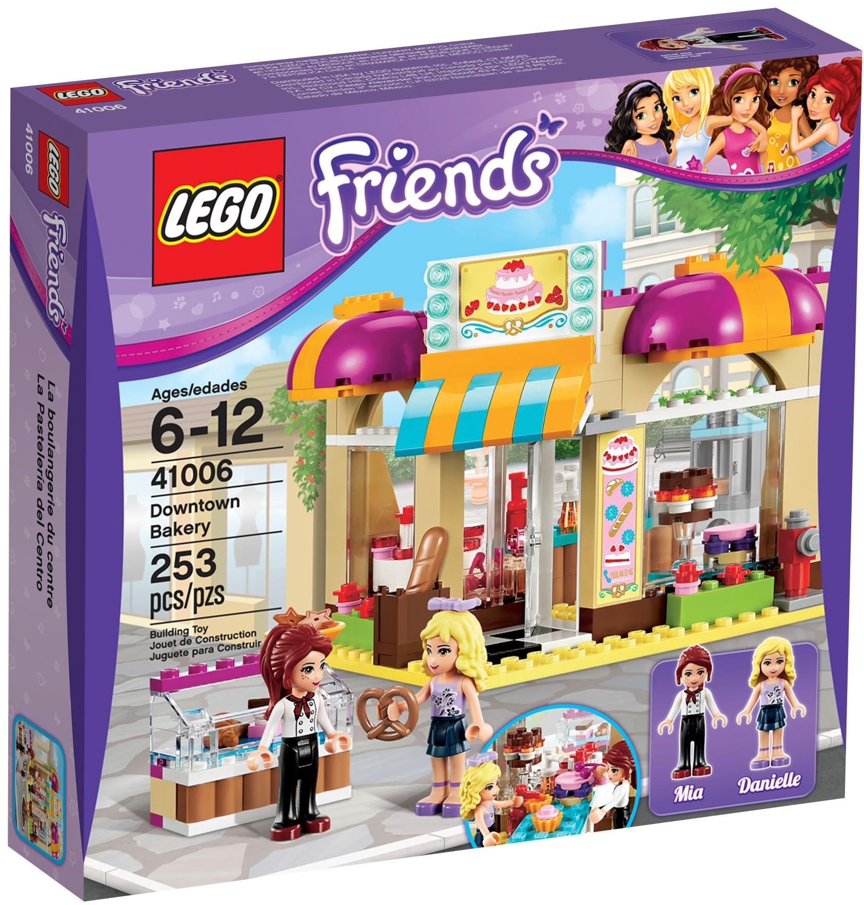 LEGO Friends 41006 pas cher, La boulangerie de Heartlake City