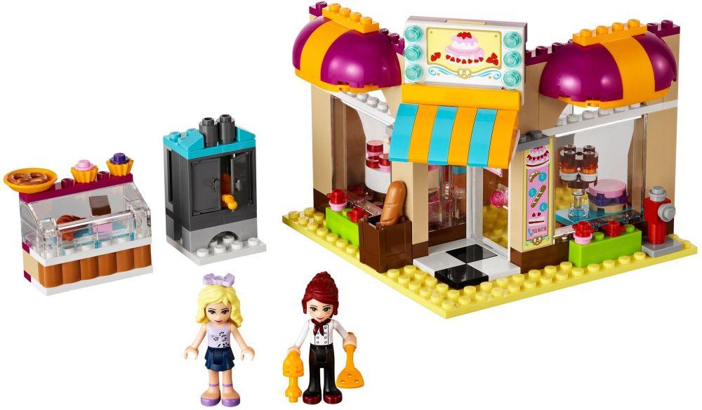Lego Friends 41006 Pas Cher La Boulangerie De Heartlake City