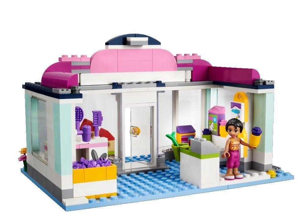 Lego friends 41007 pas cher l 39 animalerie d 39 heartlake city - Le salon de toilettage petshop ...
