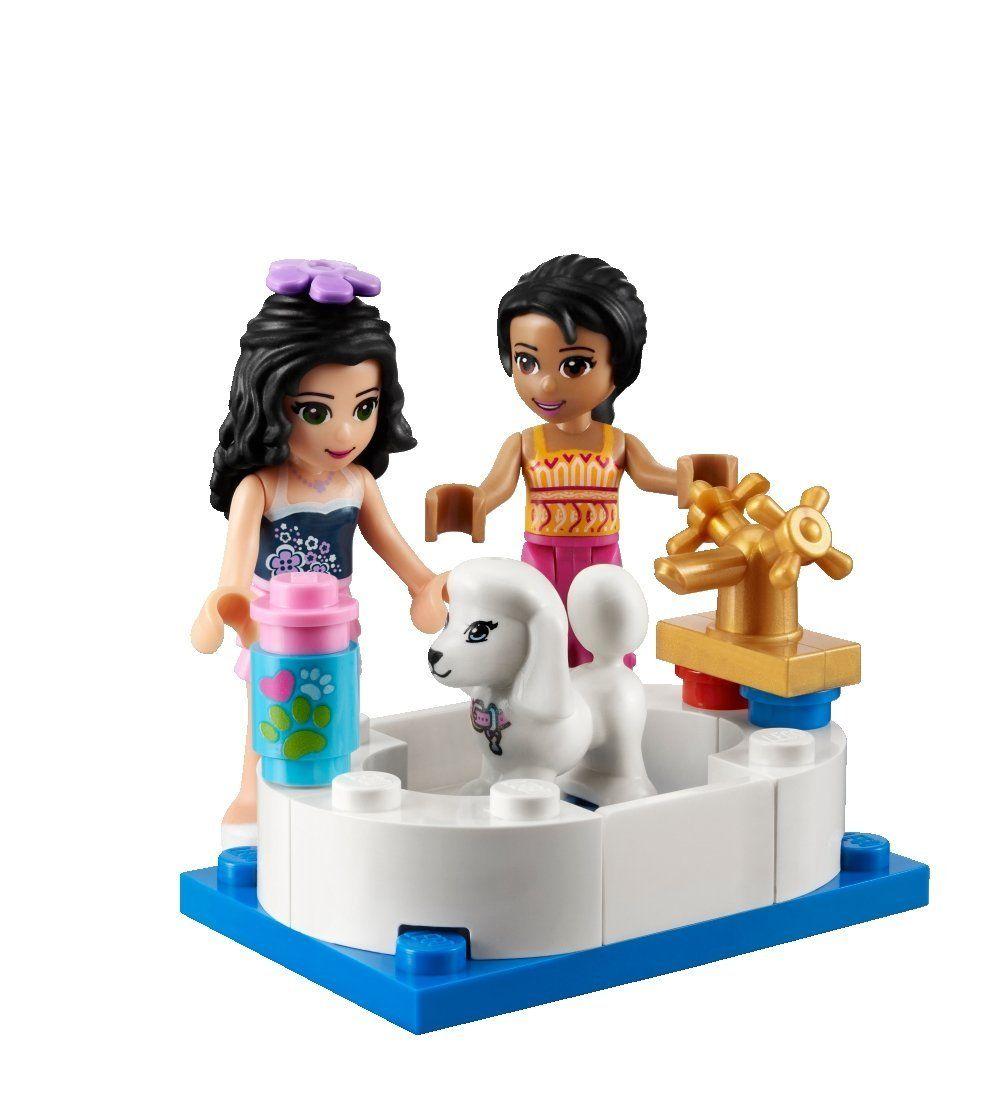 Lego friends 41007 pas cher l 39 animalerie d 39 heartlake city for Salon de coiffure lego friends
