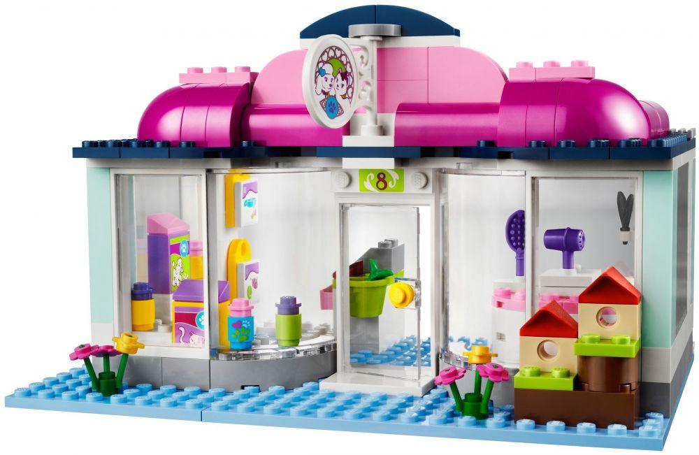 Lego friends 41007 pas cher l 39 animalerie d 39 heartlake city for Salon de toilettage paris