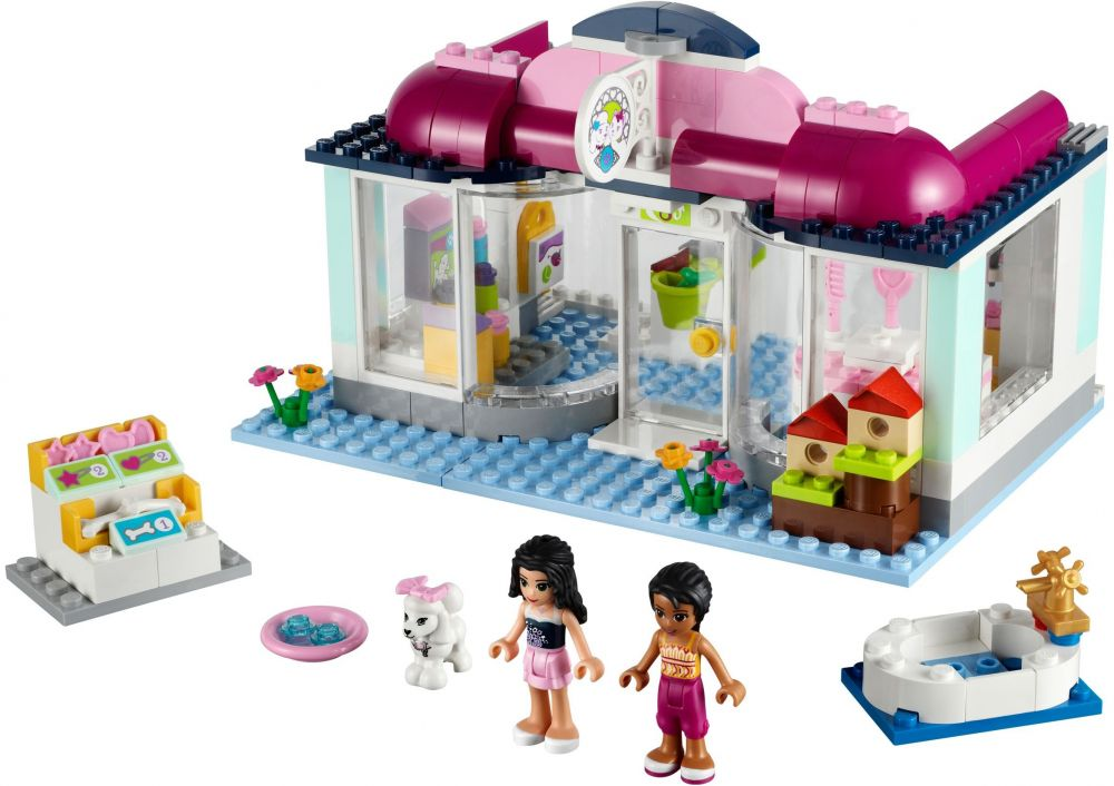 lego friends salon