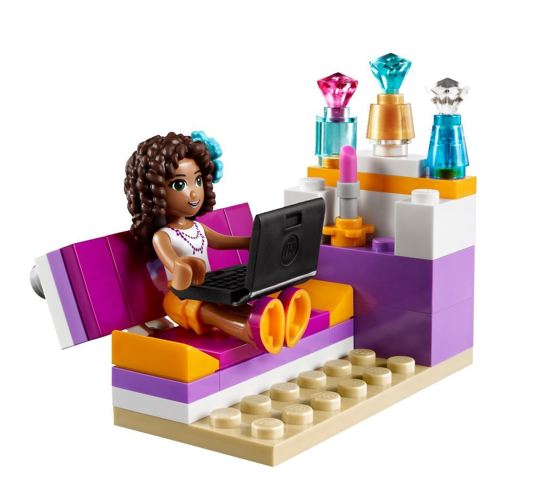 Lego friends 41009 pas cher la chambre d 39 andr a for Lego friends salon de coiffure