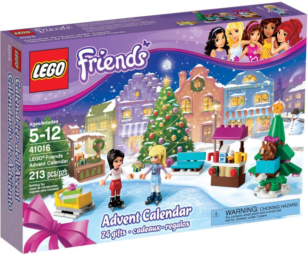 Lego saisonnier 41016 pas cher le calendrier de l 39 avent - Calendrier de l avent en bois pas cher ...