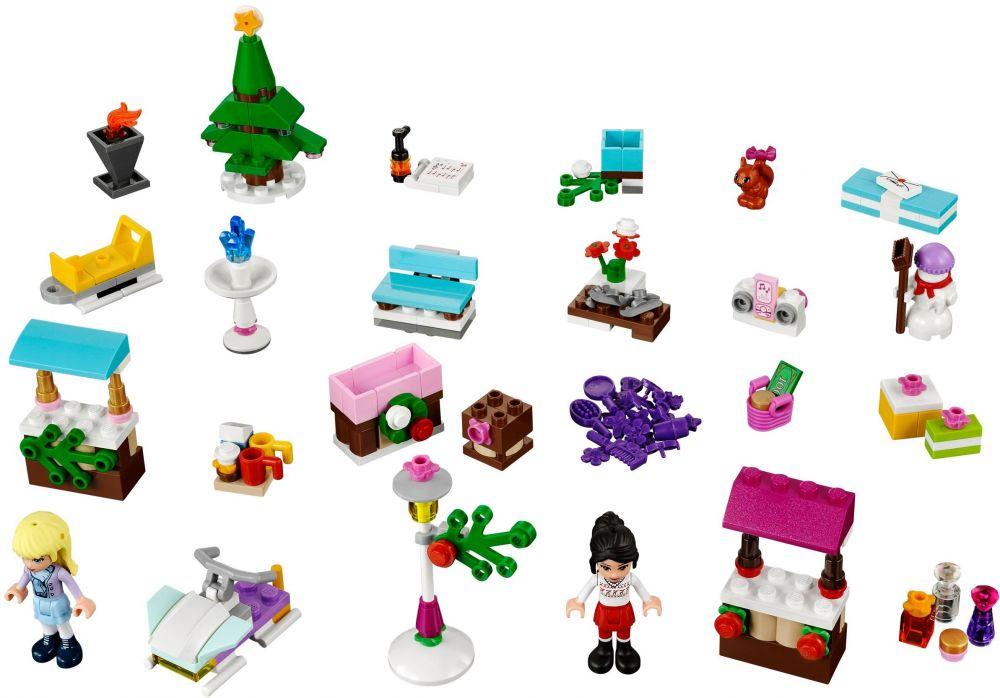 Lego Friends Calendrier De L Avent.Lego Saisonnier 41016 Le Calendrier De L Avent Lego Friends 2013
