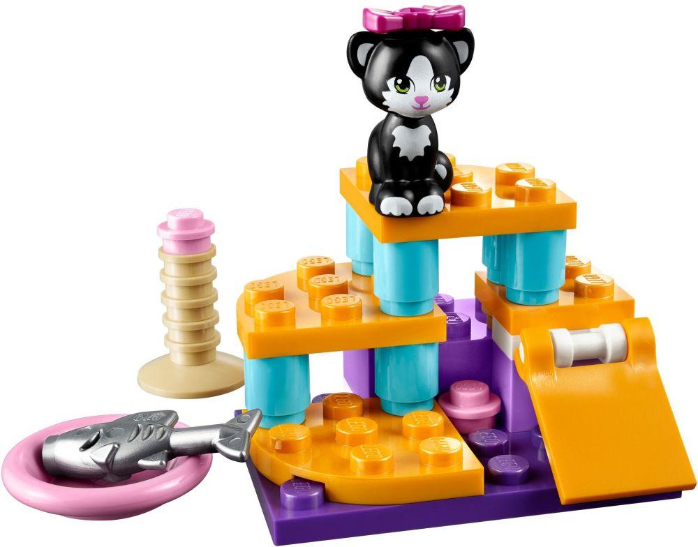 lego friends 41018 pas cher le chat et son aire de jeux. Black Bedroom Furniture Sets. Home Design Ideas