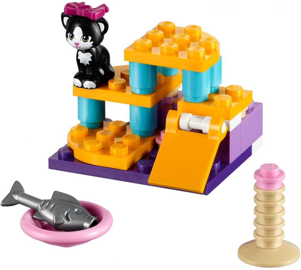 Lego friends 41018 pas cher le chat et son aire de jeux - Jeux lego friends gratuit ...