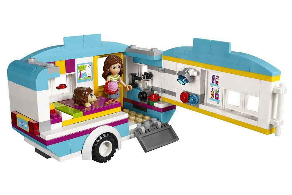 lego friends 41034 pas cher la caravane des vacances. Black Bedroom Furniture Sets. Home Design Ideas
