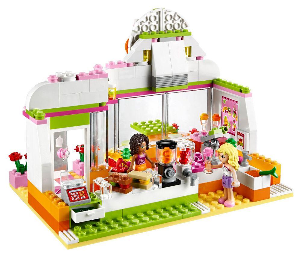 LEGO Friends 41035 pas cher, Le bar à smoothie de ...