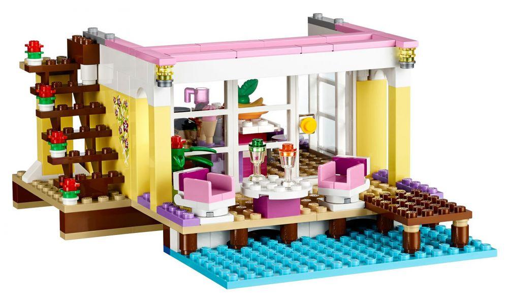 lego friends 41037 pas cher la villa sur la plage. Black Bedroom Furniture Sets. Home Design Ideas
