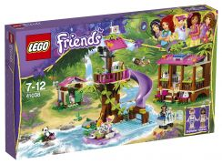LEGO Friends 41038 -  La base de sauvetage de la jungle pas cher