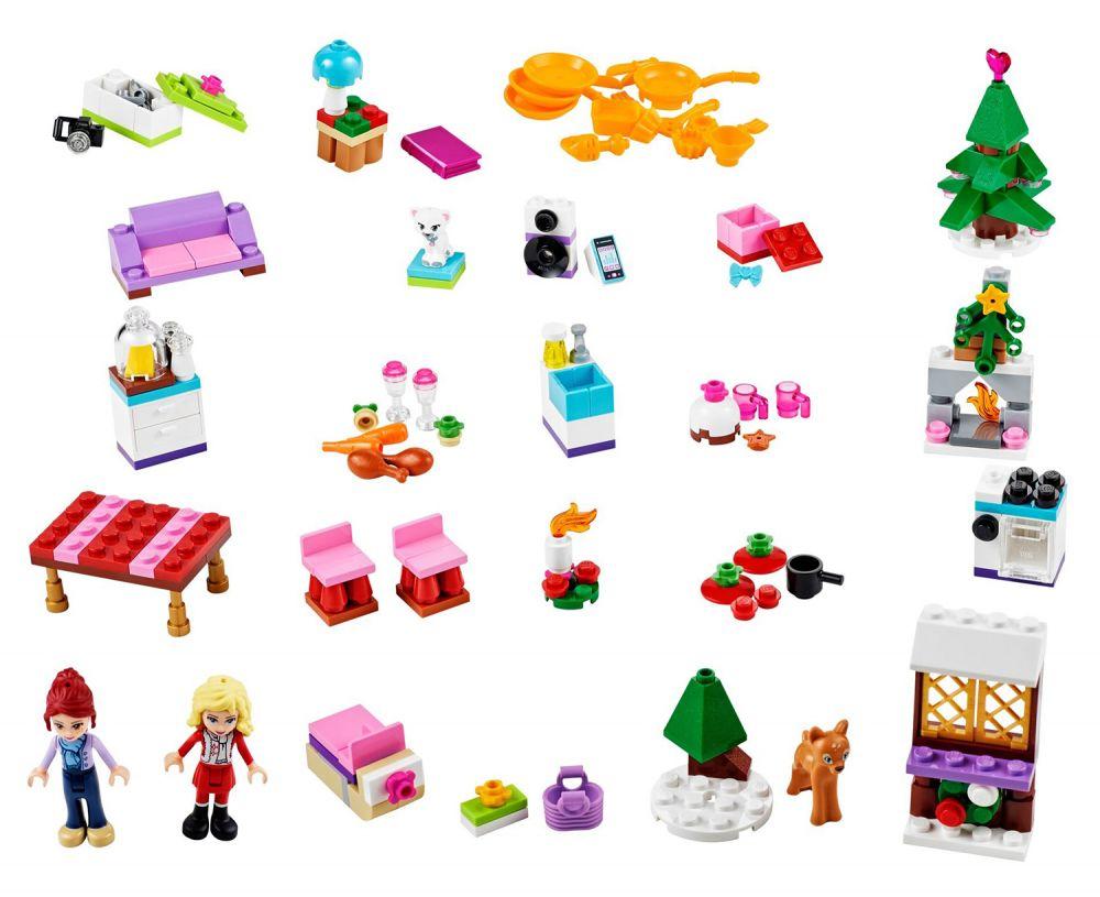 lego saisonnier 41040 pas cher le calendrier de l 39 avent lego friends 2014. Black Bedroom Furniture Sets. Home Design Ideas