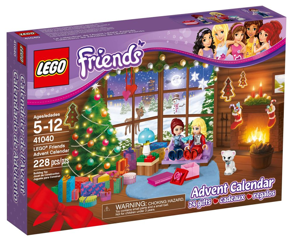 Lego saisonnier 41040 pas cher le calendrier de l 39 avent - Calendrier de l avent pas cher ...