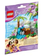 LEGO Friends 41041 La tortue et son île paradisiaque