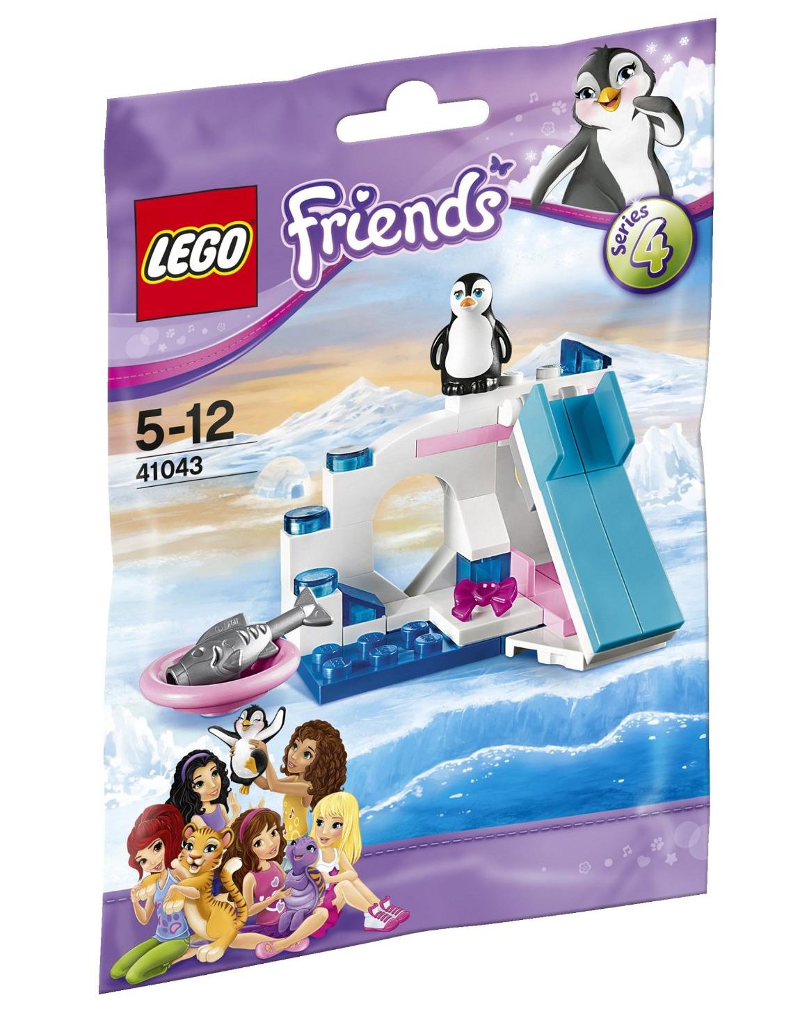 lego friends 41043 pas cher le pingouin et son aire de. Black Bedroom Furniture Sets. Home Design Ideas