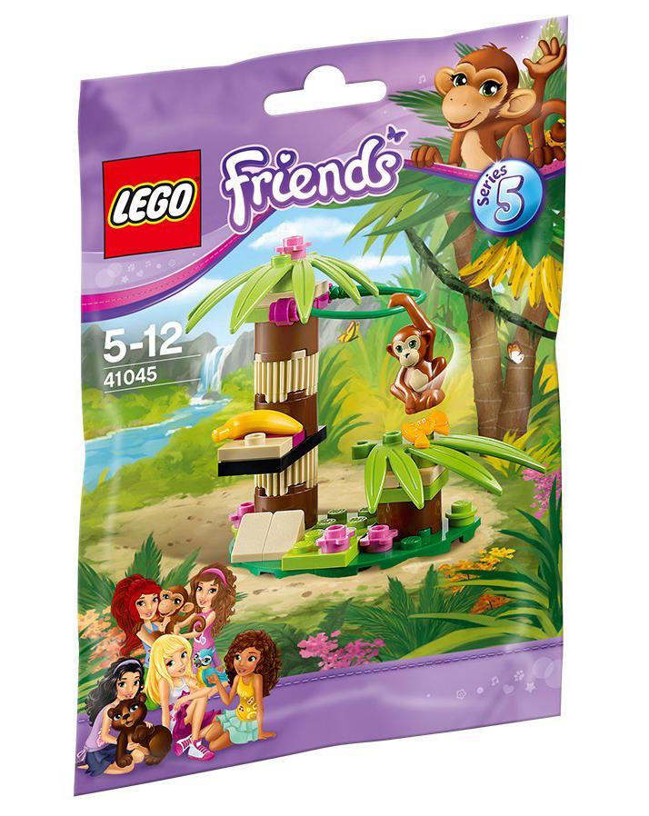 Lego friends 41045 pas cher l 39 orang outan et son bananier for Bananier artificiel pas cher