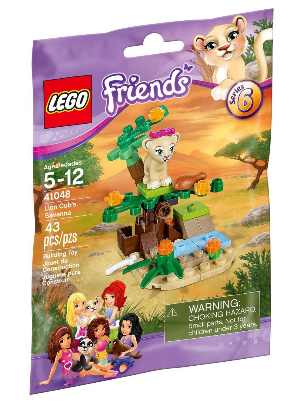 Friends 41048 Savane La Lego Lionceau Du iOPXwklZuT