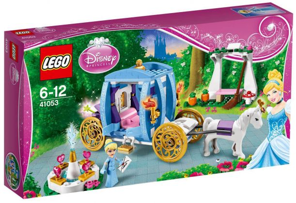 LEGO Disney 41053 Le carrosse enchanté de Cendrillon