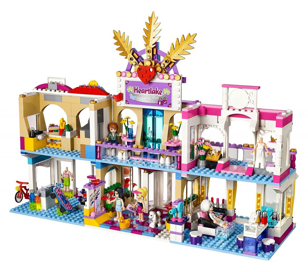 lego friends 41058 pas cher le centre commercial d 39 heartlake city. Black Bedroom Furniture Sets. Home Design Ideas