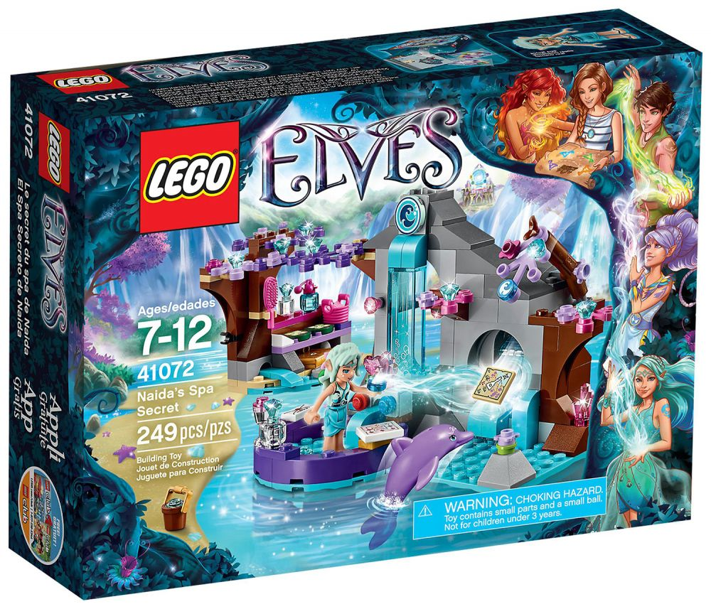 lego elves 41072 pas cher le spa de beaut de naida. Black Bedroom Furniture Sets. Home Design Ideas