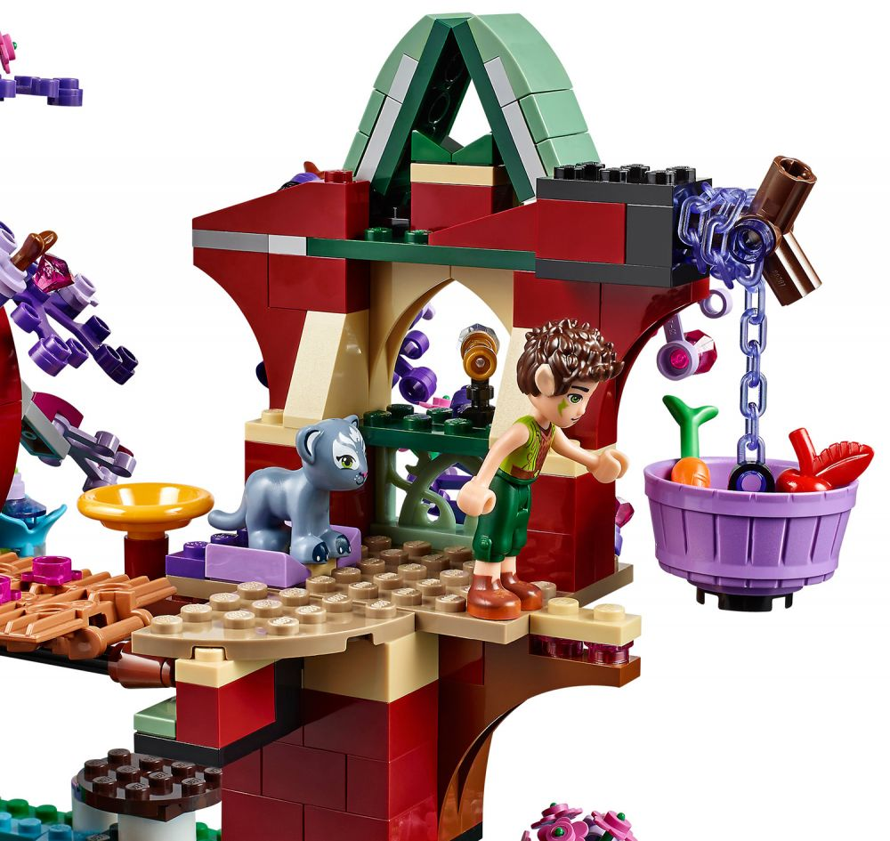 lego elves 41075 pas cher la cachette secr te des elfes. Black Bedroom Furniture Sets. Home Design Ideas