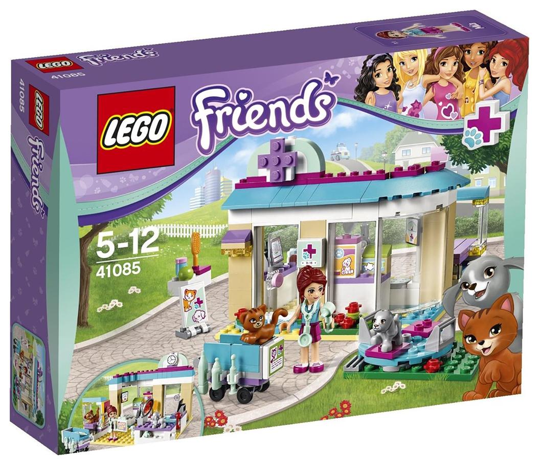 Extrêmement LEGO Friends 41085 pas cher - La clinique vétérinaire NT19