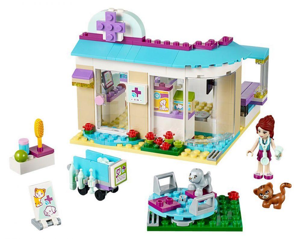 Super LEGO Friends 41085 pas cher - La clinique vétérinaire MS02