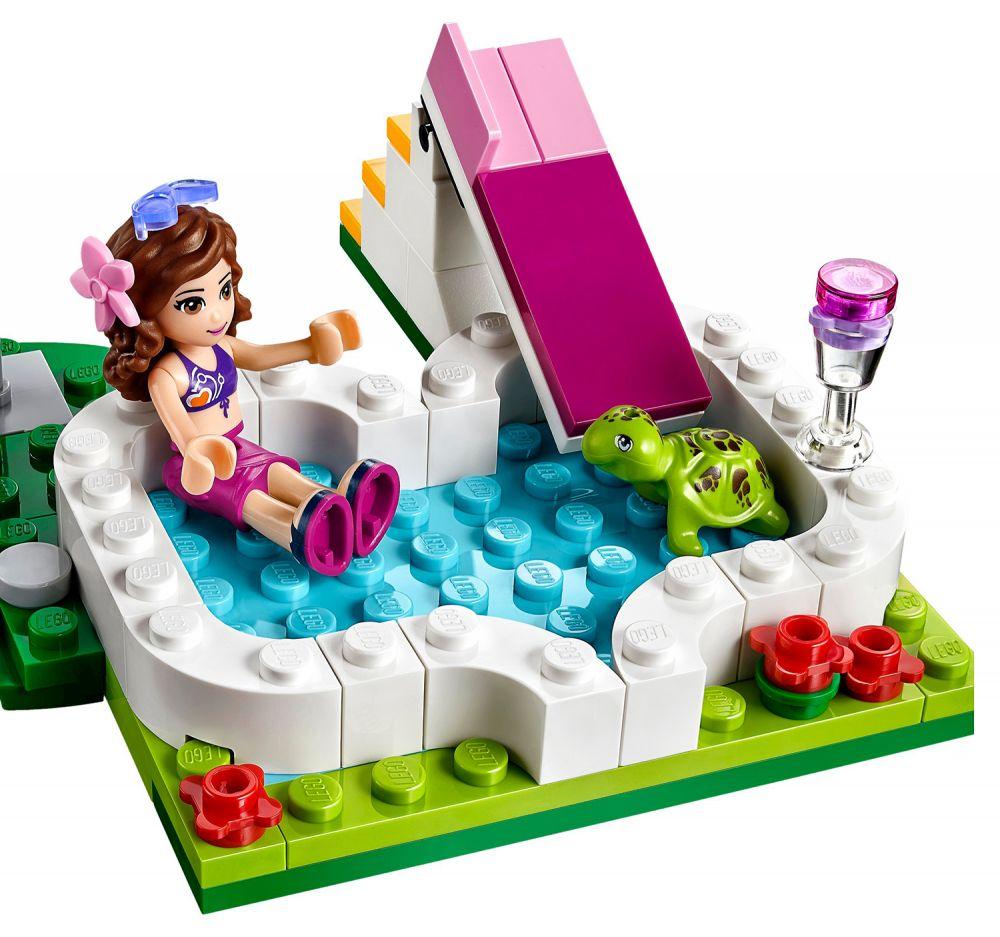 Lego friends 41090 pas cher la piscine d 39 olivia - Lego friends piscina ...