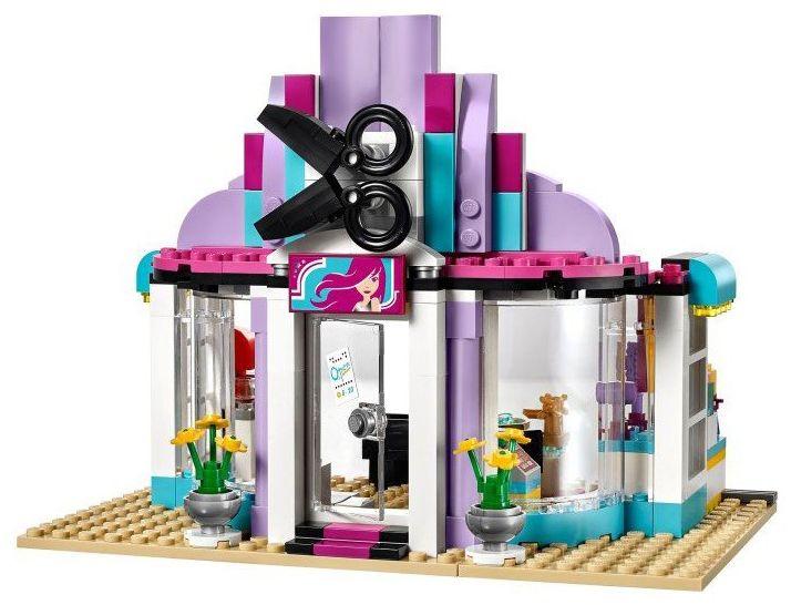 Lego friends 41093 pas cher le salon de coiffure d for Salon de coiffure lego friends