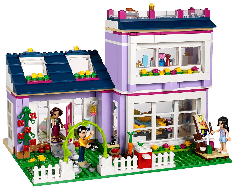 Lego friends 41095 pas cher la maison d 39 emma for Maison moderne lego