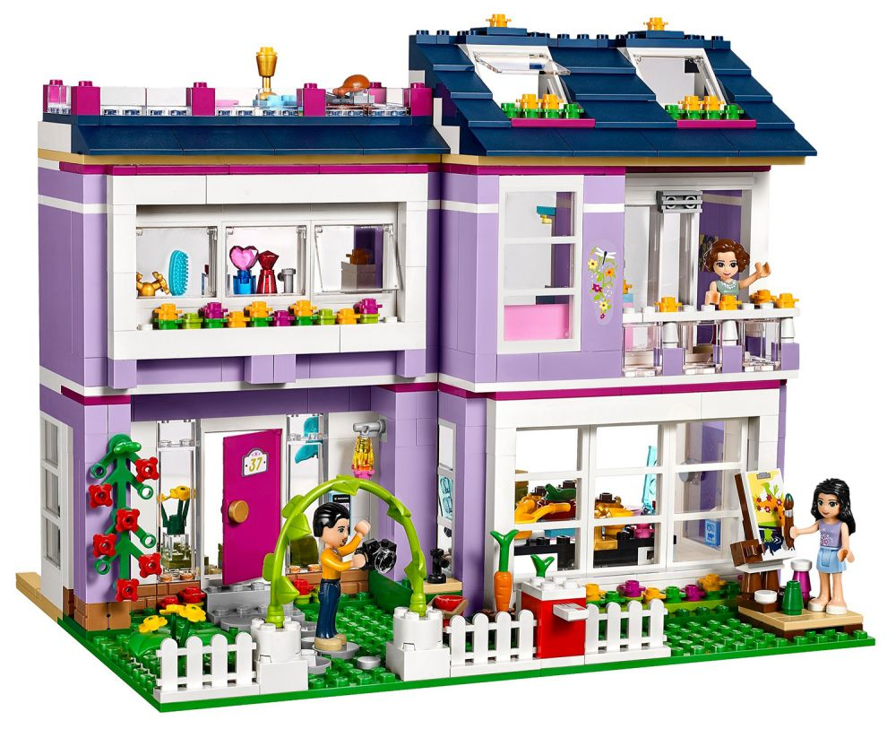 lego friends 41095 pas cher la maison d 39 emma. Black Bedroom Furniture Sets. Home Design Ideas