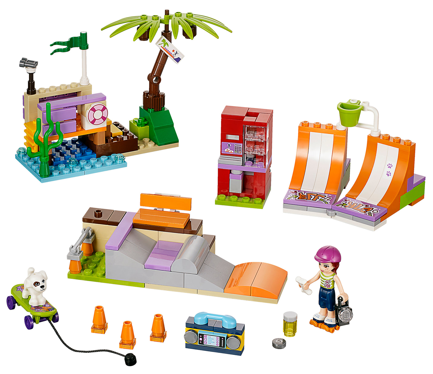Lego friends pas cher for Canape lake park