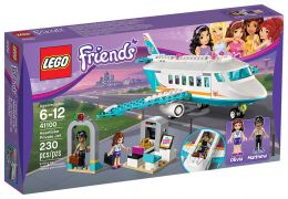 LEGO Friends 41100 - L'avion privé de Heartlake City pas cher