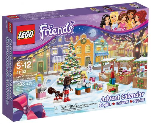 Lego saisonnier 41102 pas cher le calendrier de l avent - Calendrier de l avent en bois pas cher ...