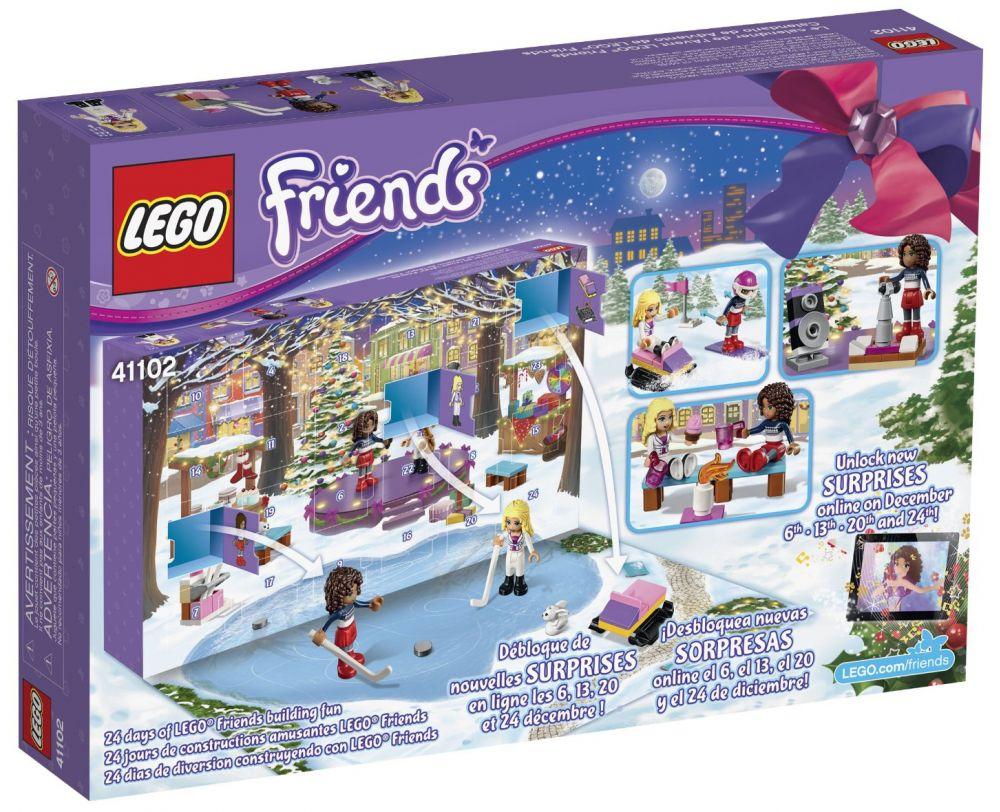 Lego Friends Calendrier De L Avent.Lego Saisonnier 41102 Le Calendrier De L Avent Lego Friends 2015