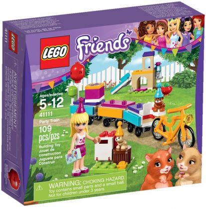 LEGO Friends 41111 Le train des animaux