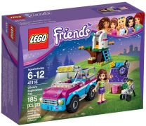 LEGO Friends 41116 La voiture d'exploration d'Olivia
