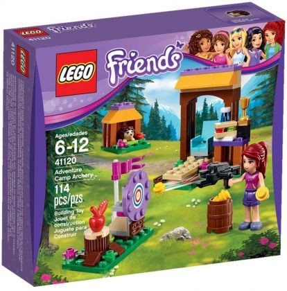 LEGO Friends 41120 Tir à l'arc à la base d'aventure