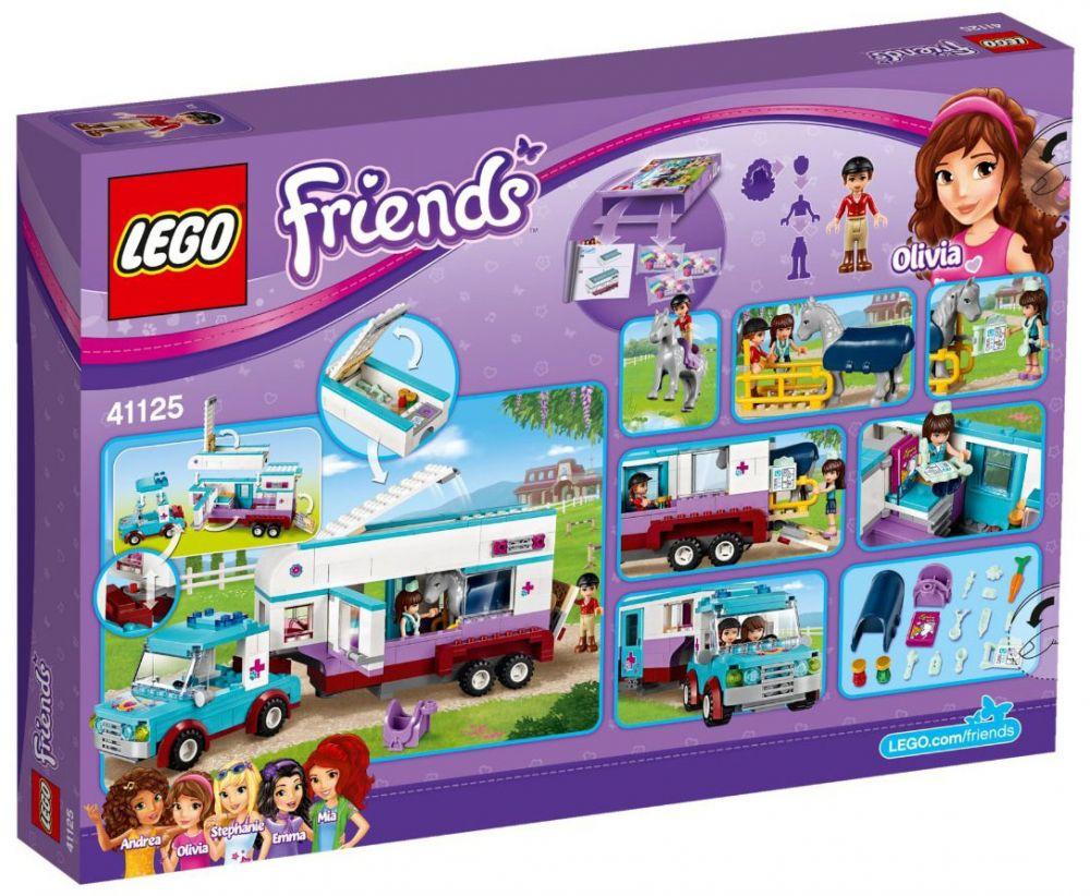 Friends Chevaux Vétérinaire Du Lego La Remorque 41125 À 4L3j5AqR