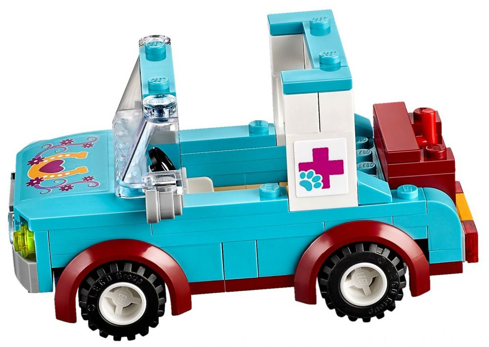 Populaire LEGO Friends 41125 pas cher - La remorque à chevaux du vétérinaire PK79