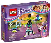 LEGO Friends 41128 - Le manège volant du parc d'attractions pas cher
