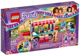 LEGO Friends 41129 - La camionnette à hot-dogs du parc d'attractions pas cher