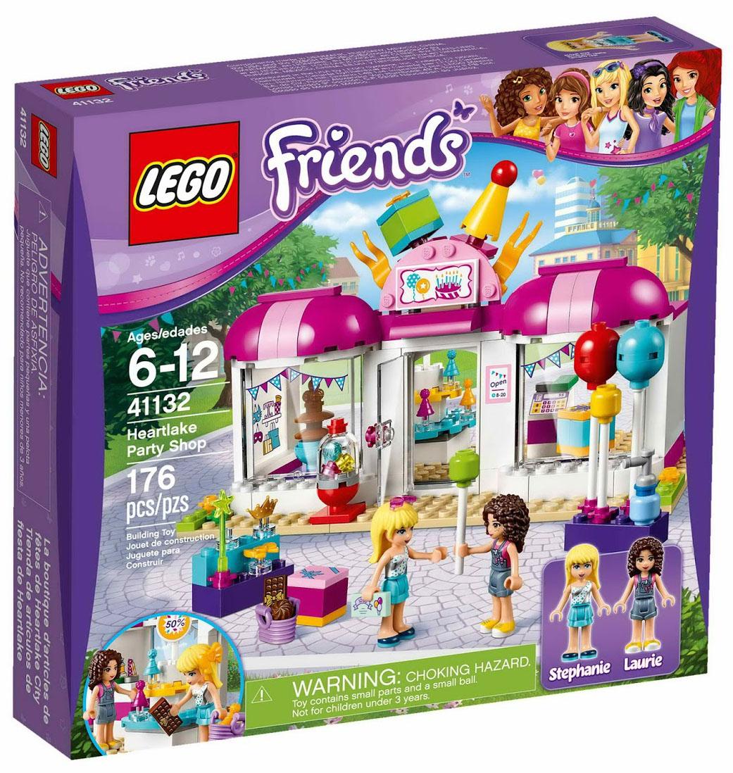 Fan Designed Lego Friends Heartlake City: La Magasin De Heartlake City