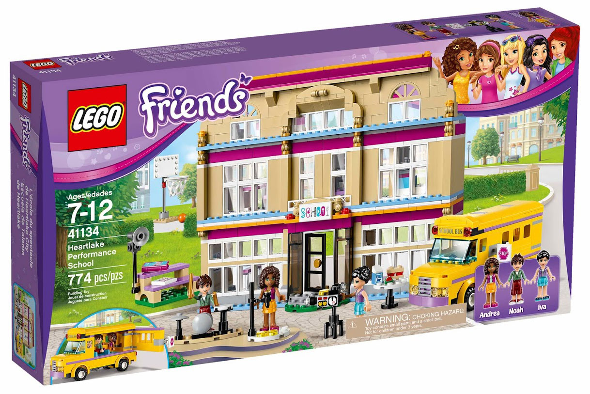 Lego friends 41134 pas cher l 39 cole de spectacle de - Lego friends l ecole ...